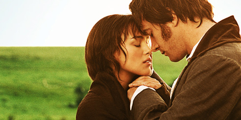 Pride and Prejudice Elizabeth Bennet and Mr Darcy