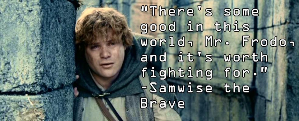 Samwise Gamgee LotR Tolkien